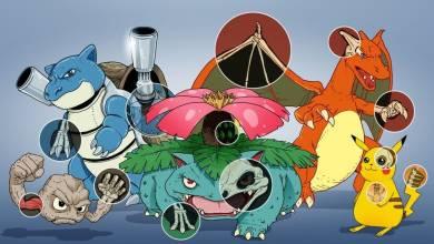 Egy művész elképzelte a Pokémonok anatómiáját