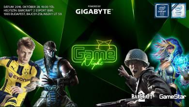 GameNight - ez vár titeket a pénteki rendezvényen!