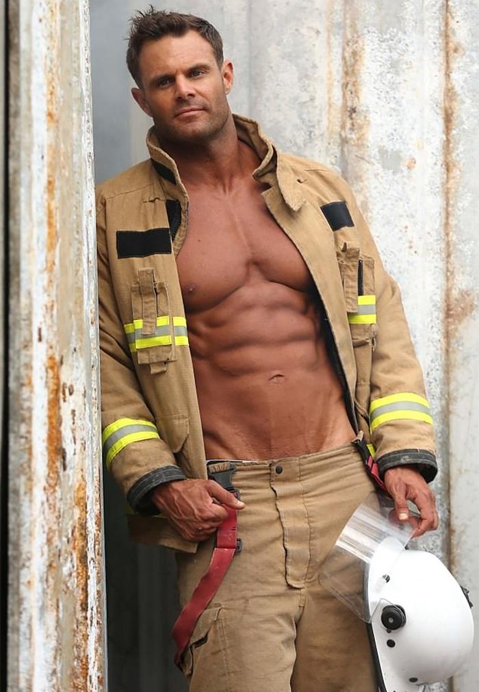 Ausztrál tűzoltók naptára