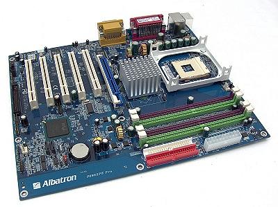 Albatron 865PE Pro Rev.2.0 s478 (SATA/LAN/AGP8x)