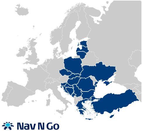 térkép kelet európa Hat új kelet európai térkép a Nav N Go tól   PC World térkép kelet európa