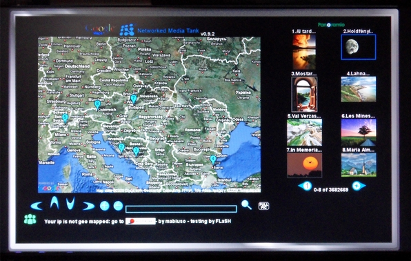 nmt google map screen hd media lejatszo