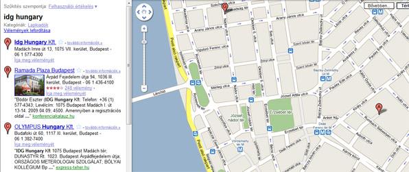 4ce579689a ... amelyeket megoszthatnak barátaikkal vagy akár az egész világgal. A  szolgáltatás a maps.google.hu, illetve a terkep.google.hu címeken érhető el.