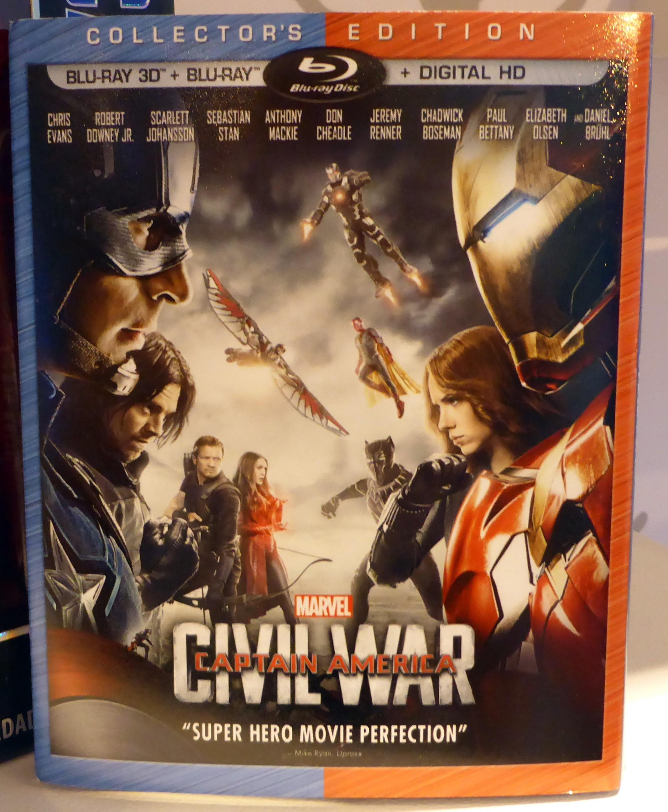 Amerika Kapitány  Polgárháború - ezek lesznek a DVD és Blu-ray ... ea1d3d606c