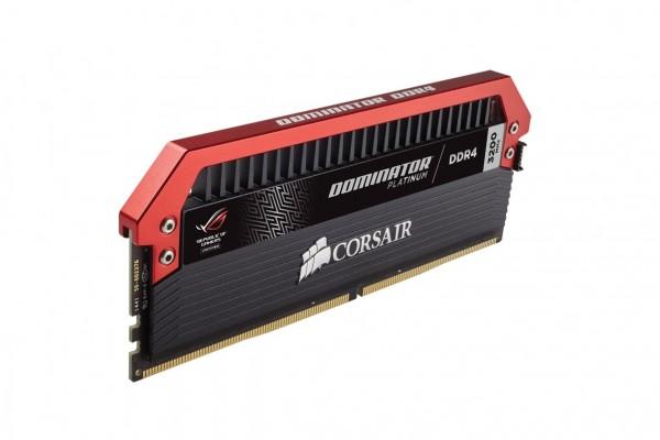 ROG szériás Dominator Platinum memória a Corsairtől