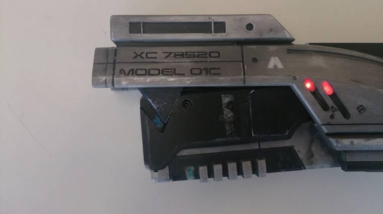 Ez a Mass Effect replika pisztoly tényleg működik bevezetőkép