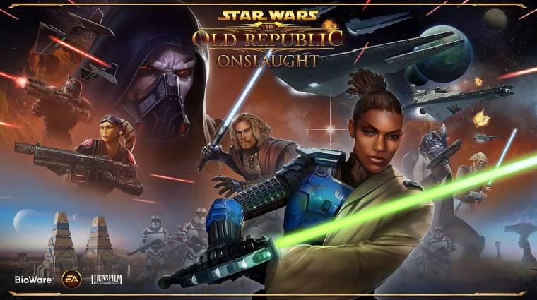 Star Wars: The Old Republic - októberben érkezik az Onslaught kiegészítő bevezetőkép