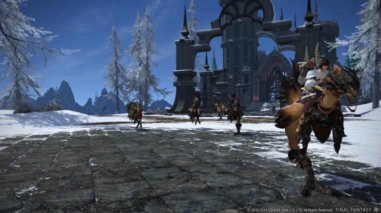 Final Fantasy XIV - itt a karácsonyi parádé bevezetőkép