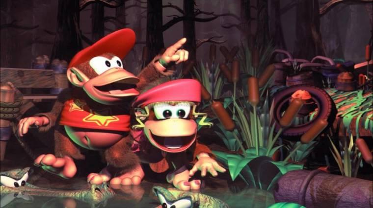 Végre jön Switchre a Donkey Kong Country 2 bevezetőkép