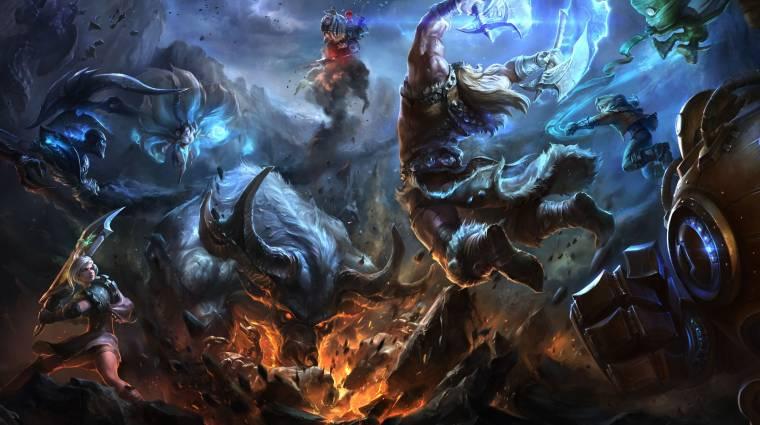 A Riot Games egy League of Legends MMO-n dolgozik bevezetőkép
