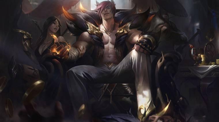 Bemutatkozott Sett, a League of Legends cicafüles maffiafőnöke bevezetőkép