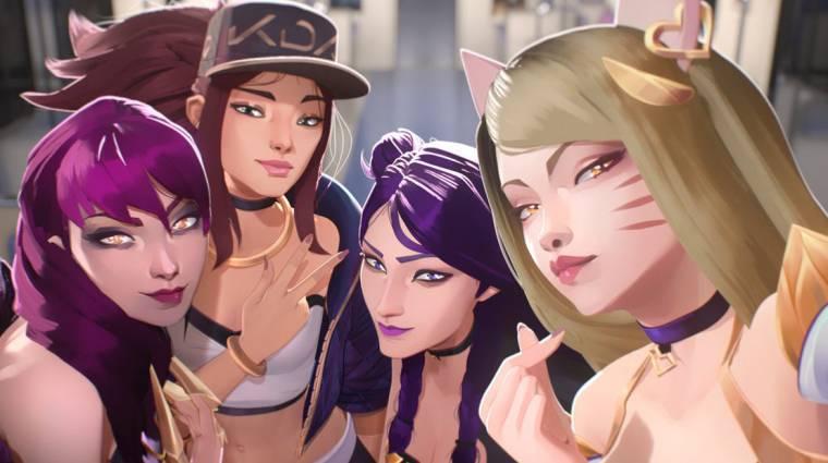 Új számmal jelentkezett a League of Legends kpop csapata, a K/DA bevezetőkép