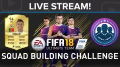 Így áll össze egy ütős csapat - FIFA 18 Squad Building Challenge live stream kép