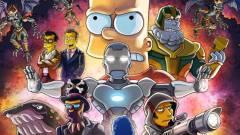 A Simpson család és Bosszúállók: Végjáték keverékéből valami egészen bizarr született kép
