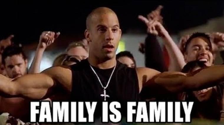 Napi büntetés: Vin Diesel minden játékba elhozza a CSALÁDOT! bevezetőkép
