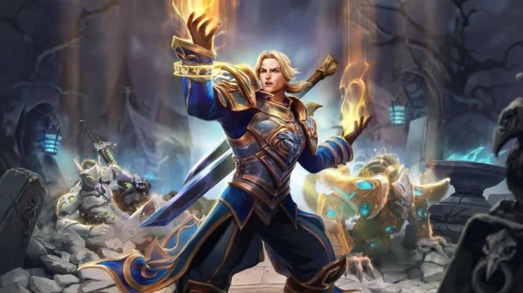 Heroes of the Storm - már tesztelhető a következő hős, Anduin Wrynn bevezetőkép