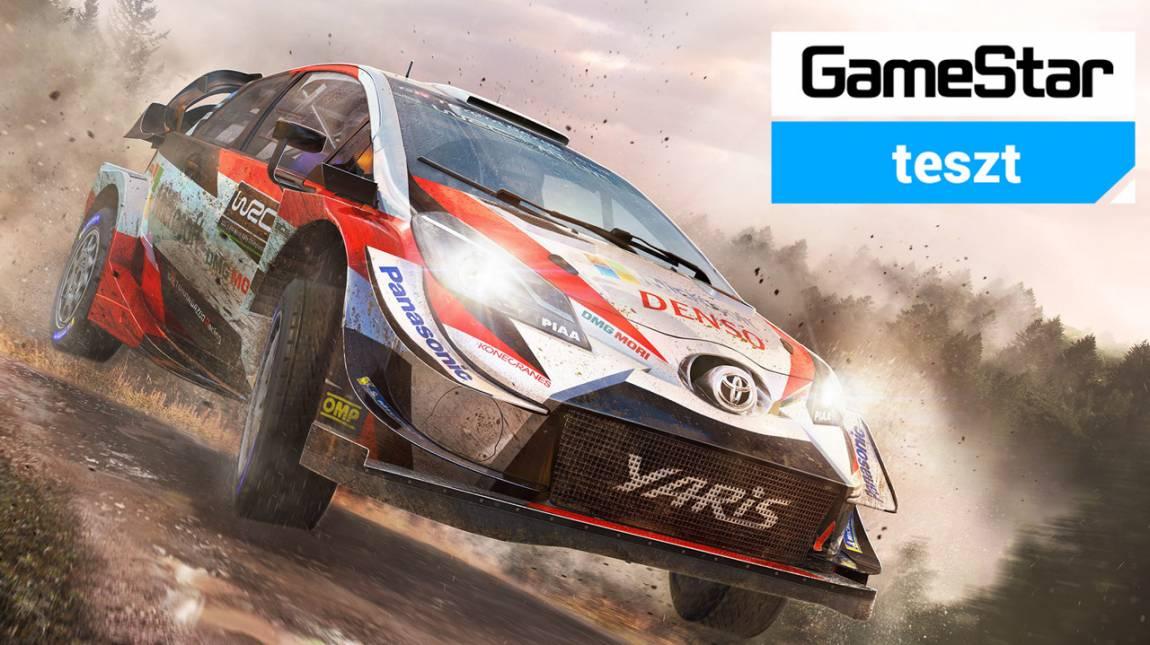 WRC 8 teszt - tűzfalig nyomd a gázt! bevezetőkép