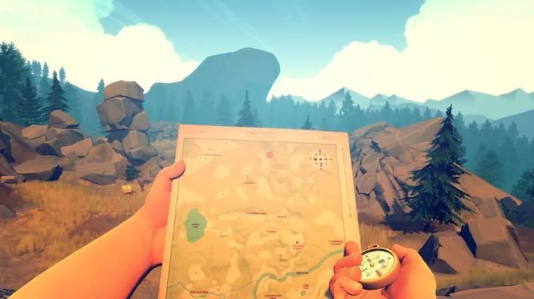 Van egy rejtett játék a Firewatch egyik kiadásában bevezetőkép