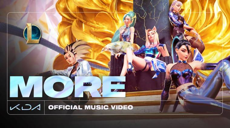 Megjött a League of Legends k-pop bandájának legújabb zenei klipje bevezetőkép