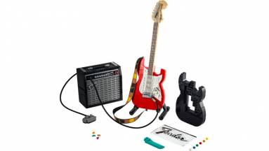 A LEGO új készlete egy Fender gitár erősítővel kép