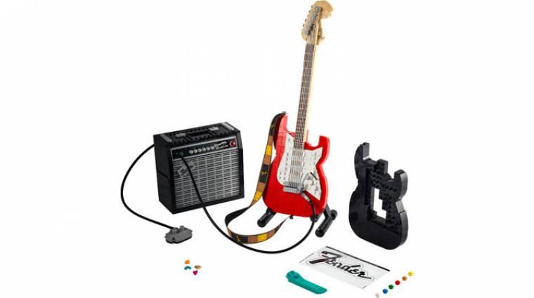 A LEGO új készlete egy Fender gitár erősítővel bevezetőkép