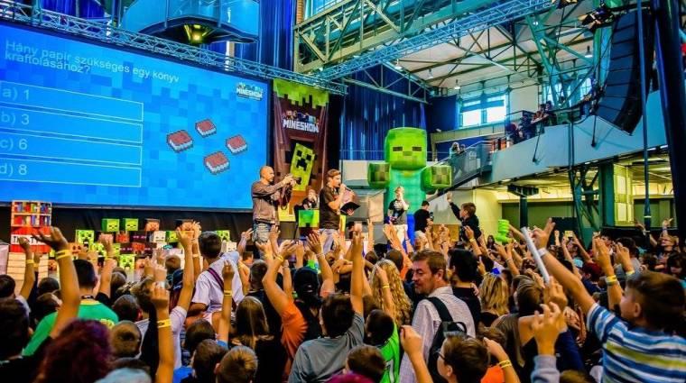 Minecraft rajongók, tiétek a gyereknap! bevezetőkép