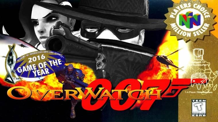 Overwatch - ilyen egy meccs N64-es GoldenEye módra bevezetőkép