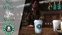 Napi büntetés: ez a Skyrim mod Starbucks poharakat hagy az asztalokon kép