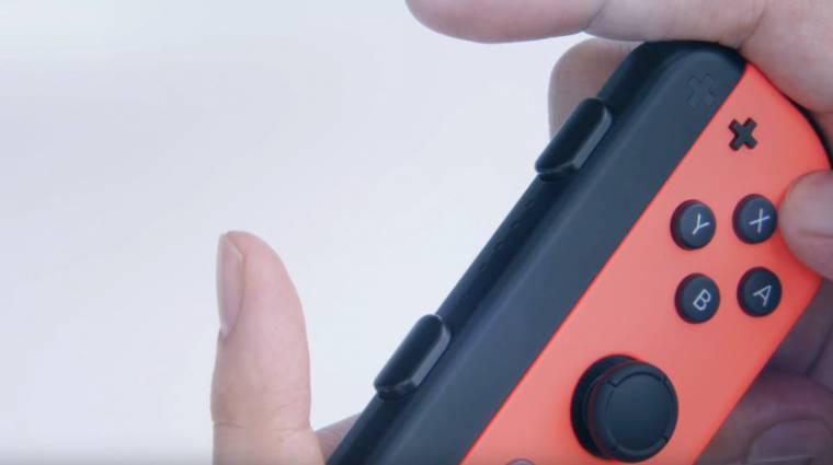 Nintendo Switch - meglepően sokat tud a Joy-Con kontroller bevezetőkép