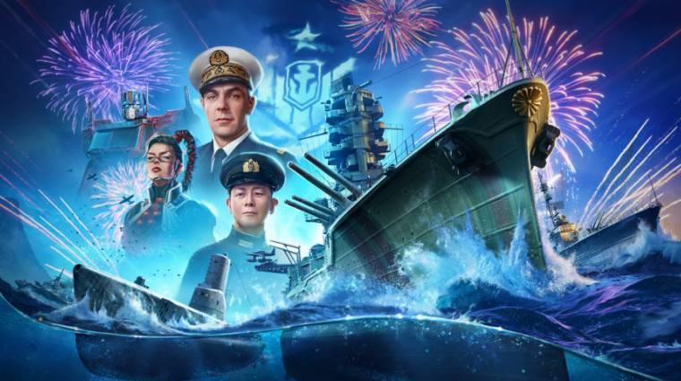 Elérkezett a World of Warships 6. születésnapja, játékbeli eseményekkel ünnepelhetünk bevezetőkép