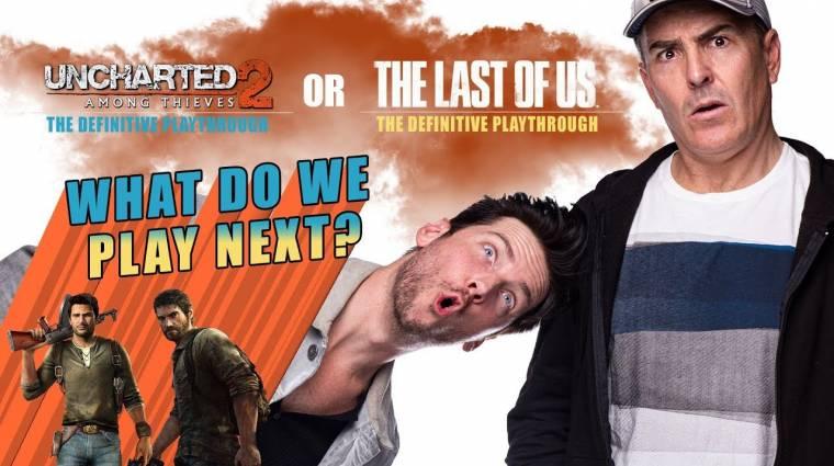 Nolan North és Troy Baker együtt játsszák azokat a játékokat YouTube-on, amiben szerepelnek bevezetőkép