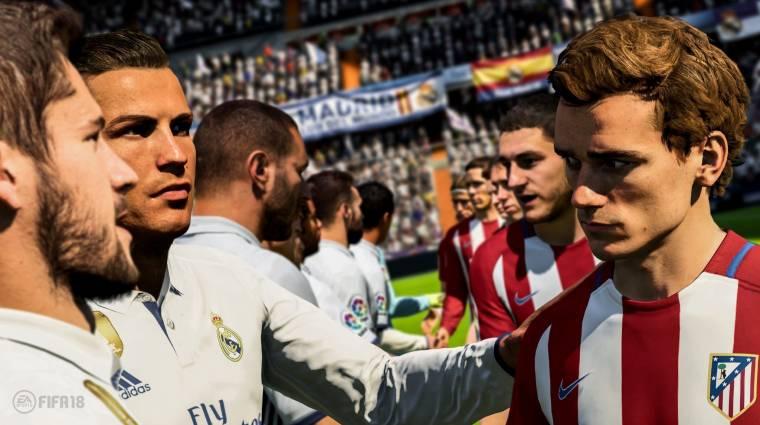 FIFA 18 - majdnem 6 millió példány fogyott az első héten bevezetőkép