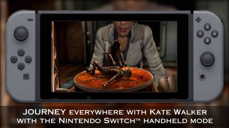 Az első két Syberia is megjelenik Nintendo Switchre bevezetőkép