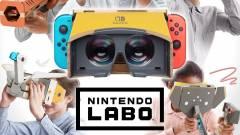 A Nintendo Switch VR-ja kartonból van kép