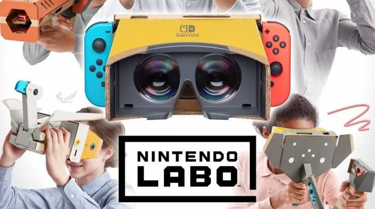 A Nintendo Switch VR-ja kartonból van bevezetőkép