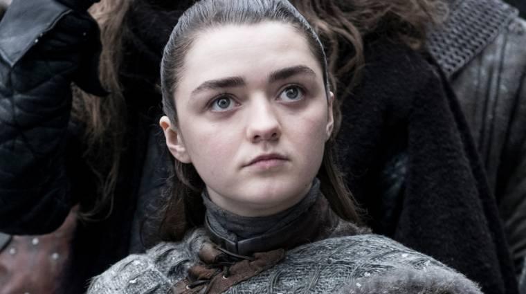 Trónok harca - a rajongók kiakadtak Arya jelenetén, a színésznő reagált bevezetőkép