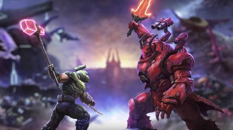 Az első igazi trailer előtt is volt mit mutatni a Doom Eternal új DLC-jéből bevezetőkép