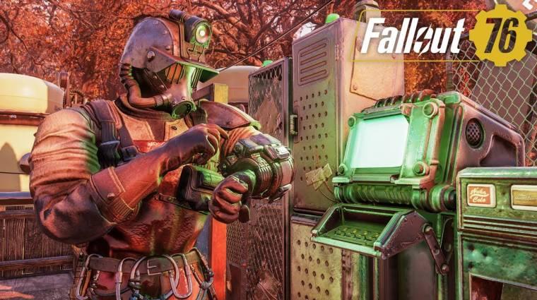 Olyan forradalmi újítás érkezett a Fallout 76-ba, hogy nem találunk szavakat bevezetőkép