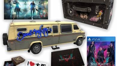 Devil May Cry 5 - a gyűjtői kiadásba még a furgon is belefért