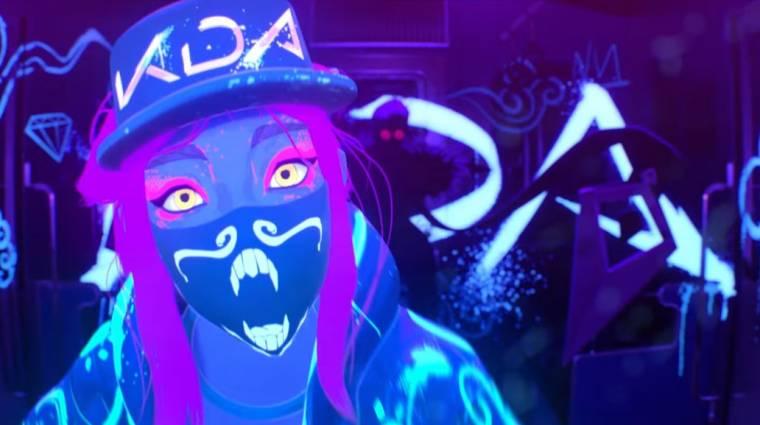 League of Legends - hatalmas koncerttel és animációs videóval mutatkozott be K/DA kpop csapat bevezetőkép