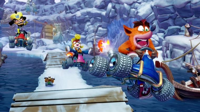 Crash Team Racing Nitro-Fueled tesztek - szép kört ment a kritikusoknál bevezetőkép