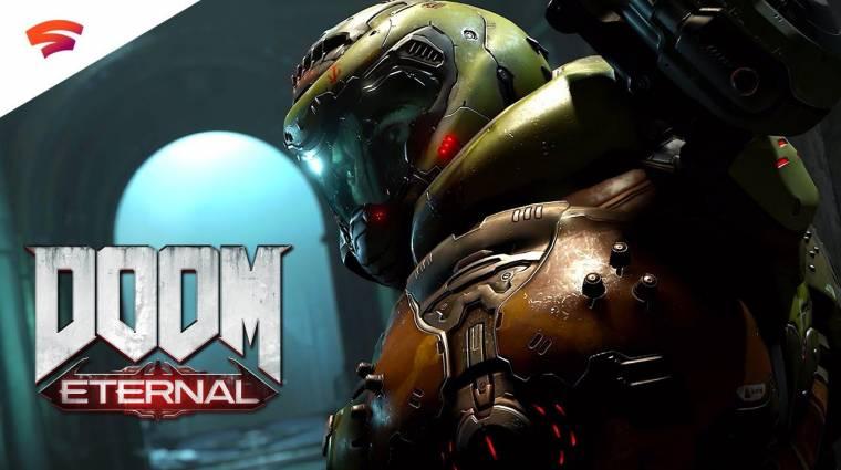 Gamescom 2019 - a Doom Eternal is megy Stadiára, bemutatkozott a Hunter démon bevezetőkép