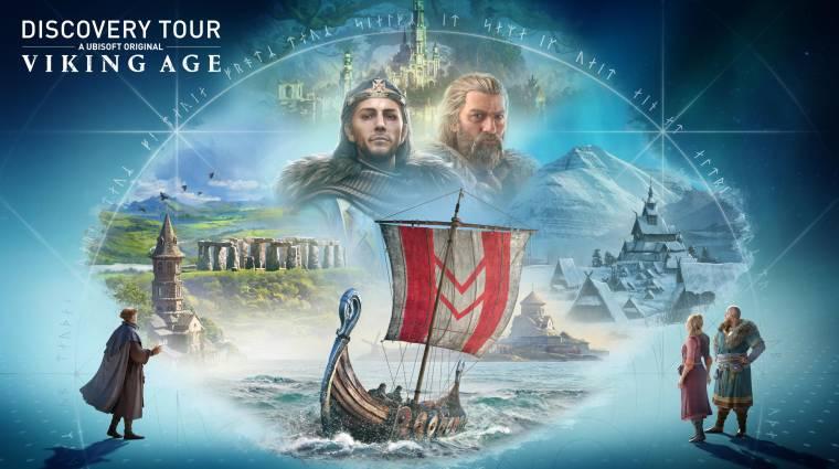Az Assassin's Creed Valhalla is megkapja a saját Discovery Tour kiegészítését bevezetőkép