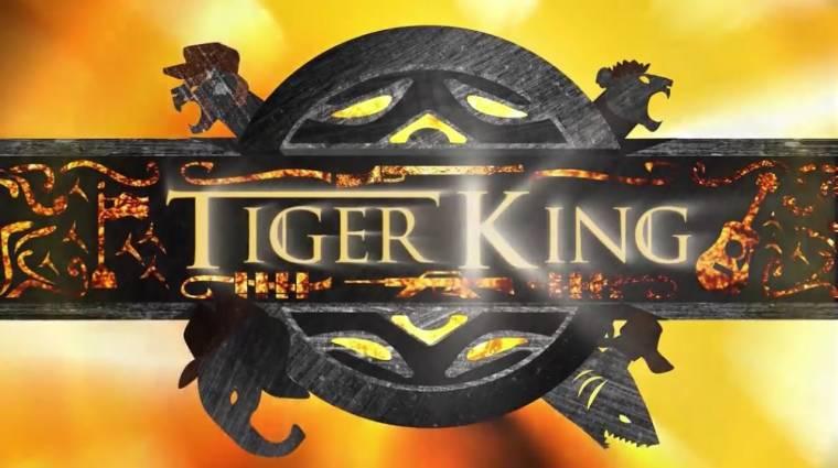 Trónok Harca-témájú intrót kapott a Tiger King bevezetőkép