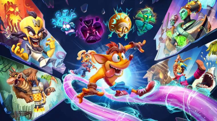 Heteken belül PC-re jön a Crash Bandicoot 4 bevezetőkép