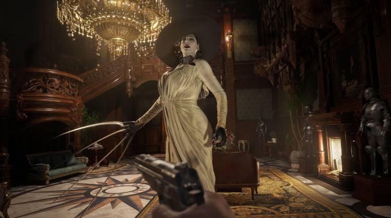 A Resident Evil: Village első frissítése megoldotta a PC-s szaggatások problémáját bevezetőkép