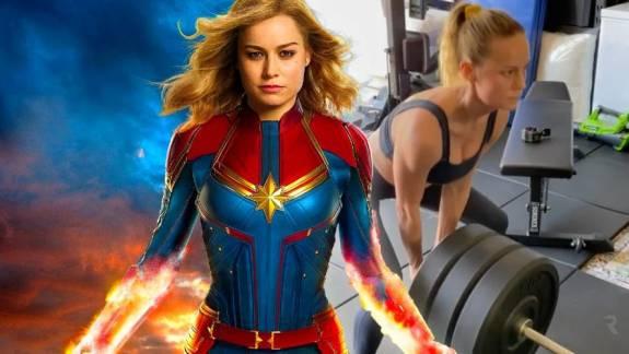 Brie Larson edzésterve láthatóan nagyon bevált, így fest most a The Marvels forgatása előtt kép