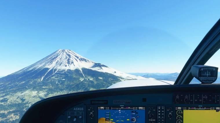 Japán helyszínekkel bővíti a Flight Simulator világát a Microsoft bevezetőkép