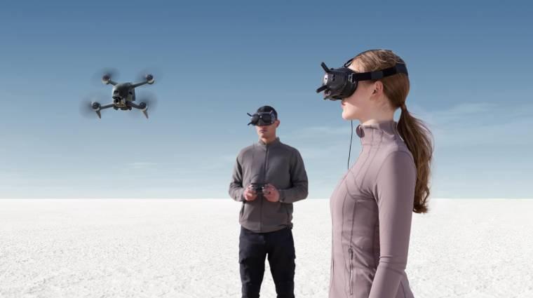 Szemüveggel támad a DJI legújabb drónja kép
