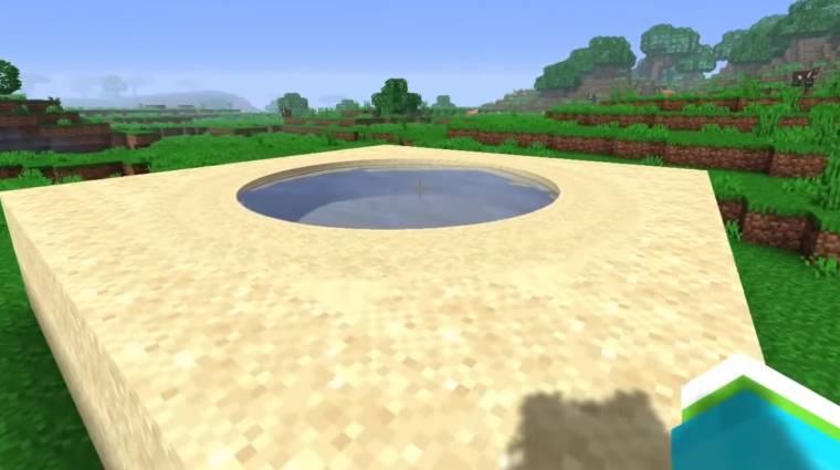 Hibátlan kört építettek a Minecraftban, modok nélkül bevezetőkép